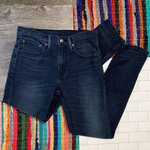 Levi's Men's Dark Wash 512 Slim Taper Fit Jeans